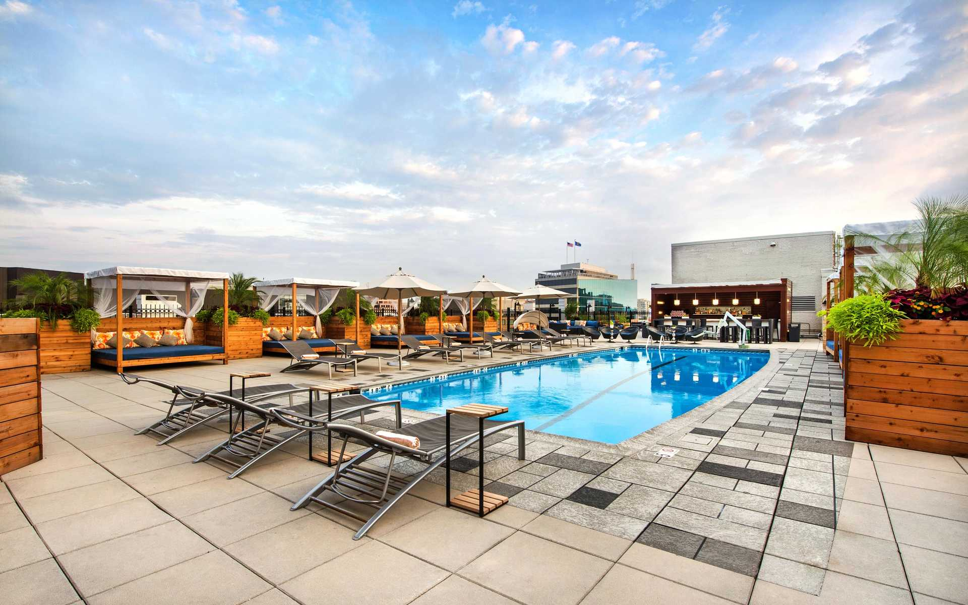 Liaison DC Rooftop Pool