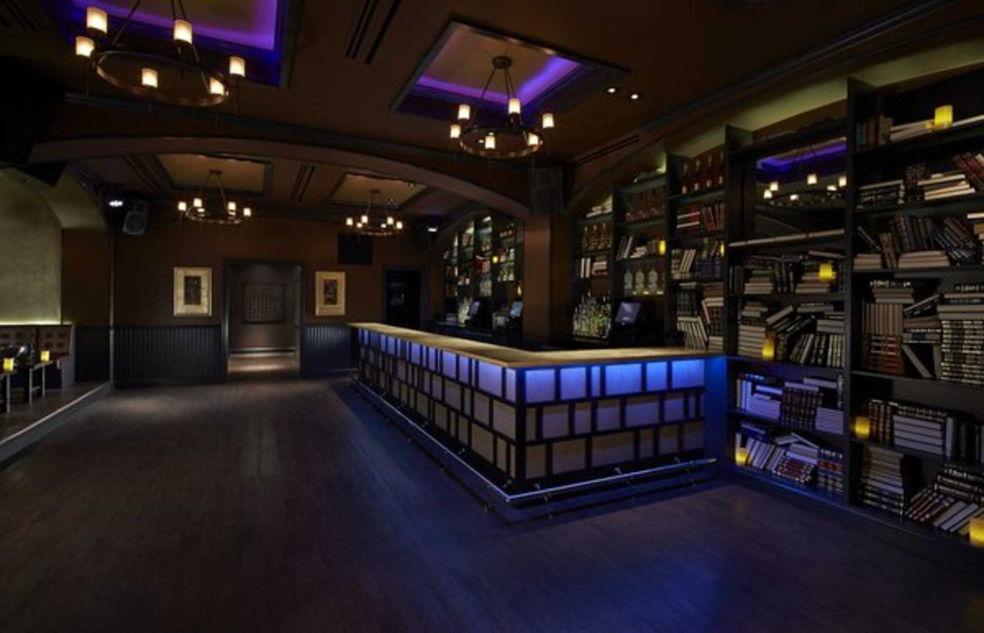 Huxley DC Library Lounge